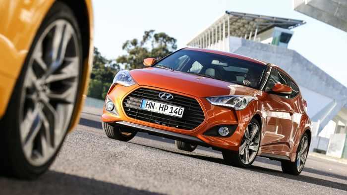 Hyundai Veloster Turbo: Wummern unter der Haube