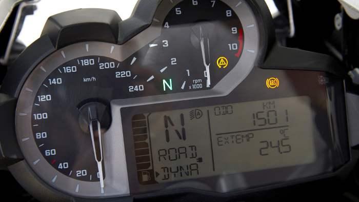 Cockpit der BMW R 1200 GS.