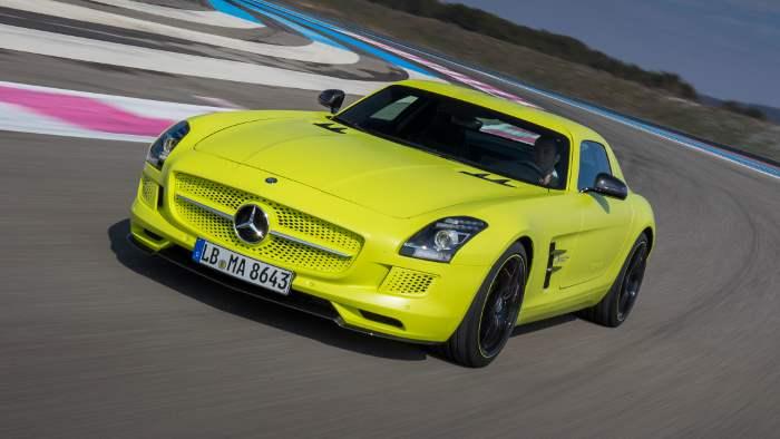 Mercedes SLS AMG Electric Drive.