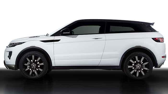 Der Range Rover Evoque wird neu eingekleidet.