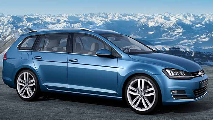 VW Golf wächst zum Variant
