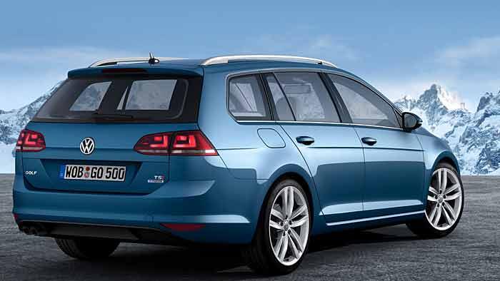 Der VW Golf Variant ist nicht nur in der Länge gewachsen.