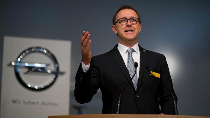 Opel-Strategievorstand Thomas Sedran.