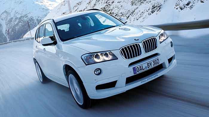 Der BMW Alpina XD3 Biturbo wird von 350 PS angetrieben.