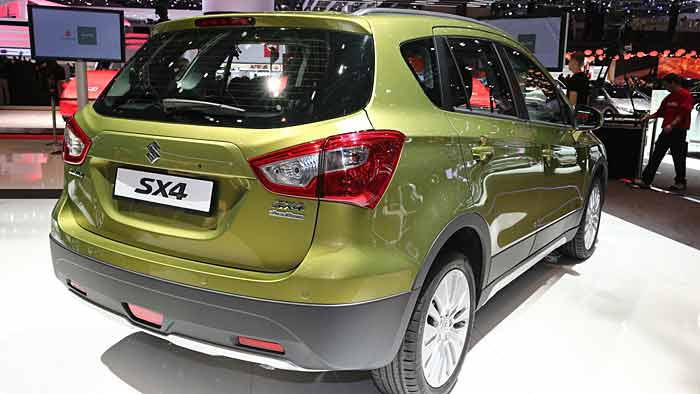 Der Neue Suzuki SX4 Kommt Im Herbst Auf Den Markt