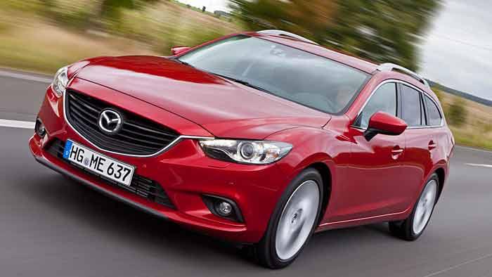 Der neue Mazda6 ist mit verbrauchsärmeren Motoren unterwegs.