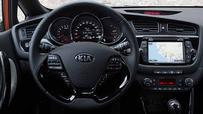 Der Pro Ceed ist das dritte Modell der kompakten Baureihe von Kia.