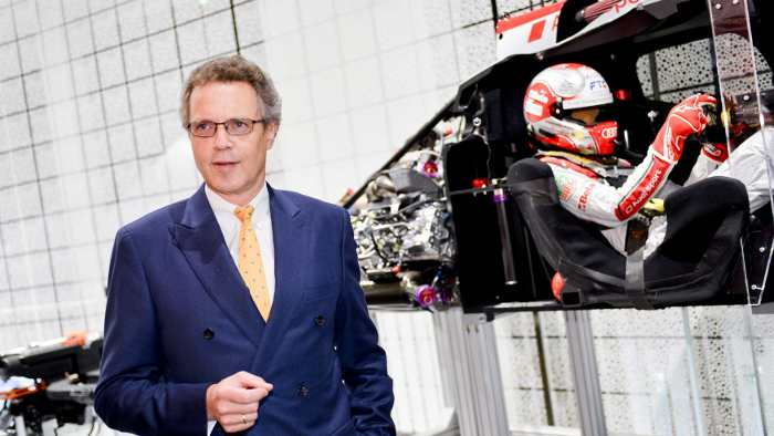 Audi-Entwicklungsvorstand Wolfgang Dürheimer.