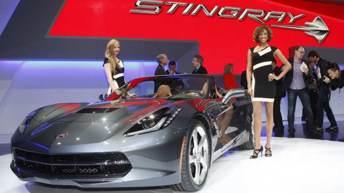 Chevrolet Corvette Stingray Cabrio.