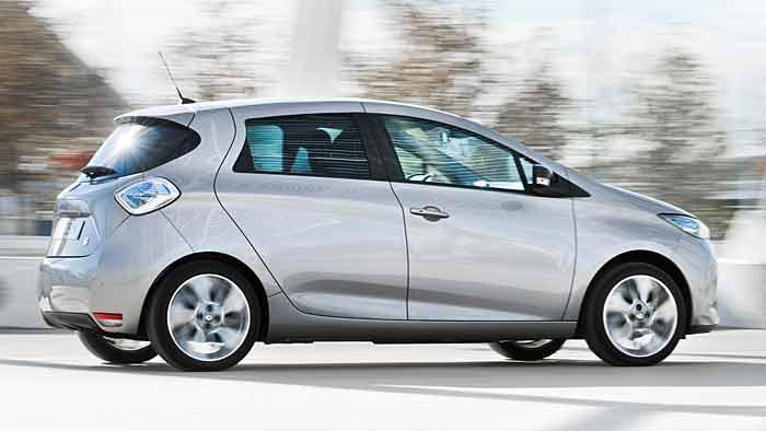 Der Zoe ist das vierte Elektroauto von Renault.