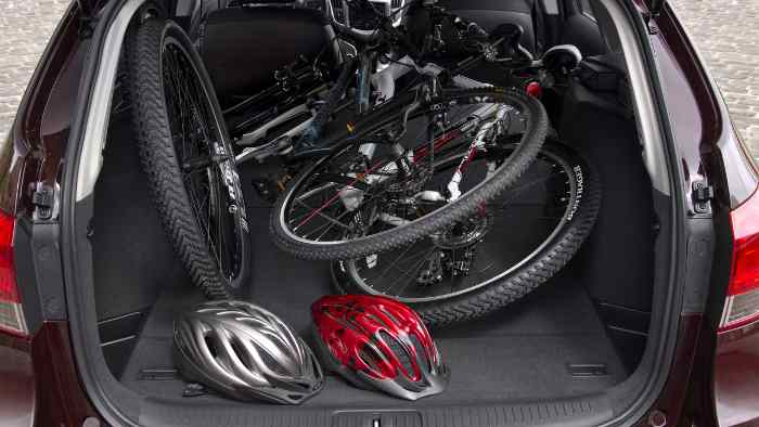 Der Kofferraum des Chevrolet Cruze Kombi bietet 500 Liter Volumen.