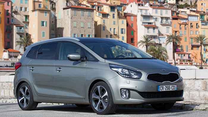 Der neue Kia Carens kommt am 4. Mai auf den Markt.