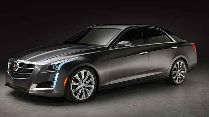 Der Cadillac CTS wird im Frühjahr 2014 in Deutschland auf den Markt kommen.