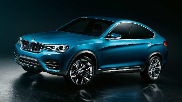 Das BMW X4 Concept wird in Shanghai präsentiert.