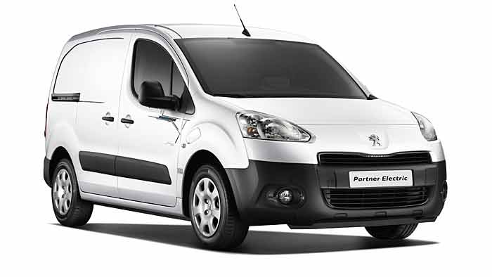 Die Preise für den Peugeot Partner Electric beginnen bei 26.000 Euro.