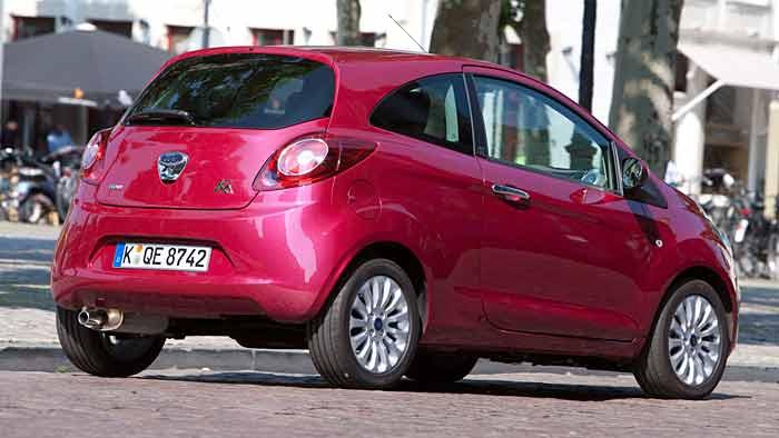 Die Preise für den Ford Ka beginnen bei 9100 Euro.
