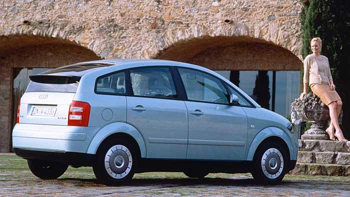 Der Audi A2 ist als Gebrauchter zu empfehlen.