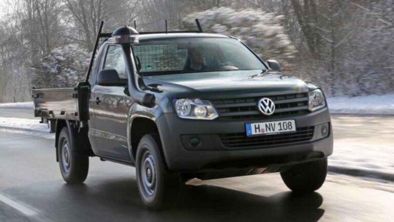 VW Amarok wird zum Arbeitstier