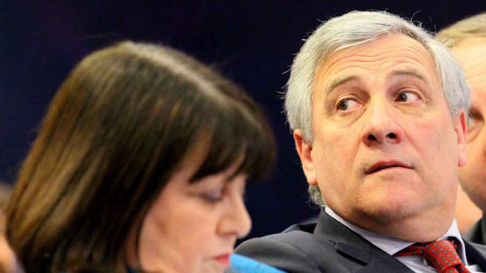 EU-Kommissar Antonio Tajani