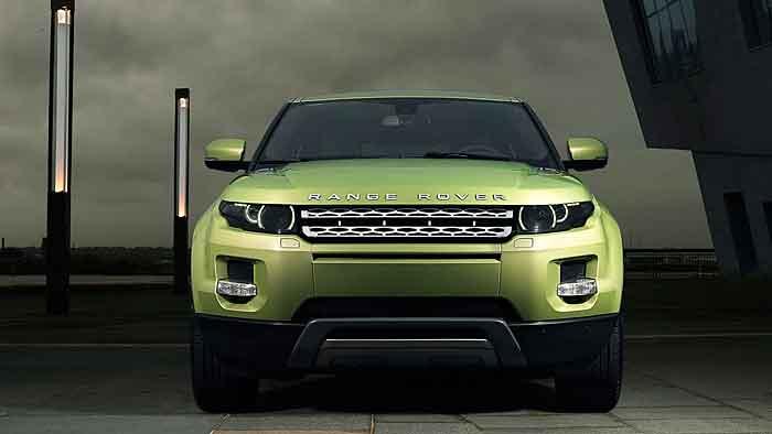 Der Range Rover Evoque begeistert eher männliche Vertreter.