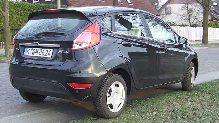 Der Ford Fiesta ist mit dem Dreizylinder-Motor leider kein Schnäppchen.