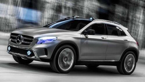 Der Mercedes Concept GLA wird in Shanghai präsentiert.
