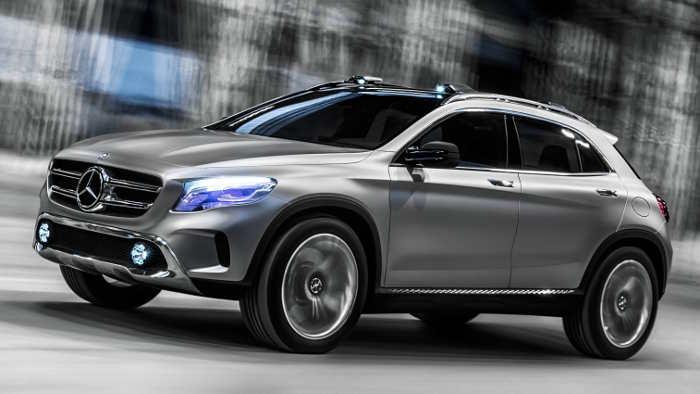 Mercedes Concept GLA: Der Lückenfüller