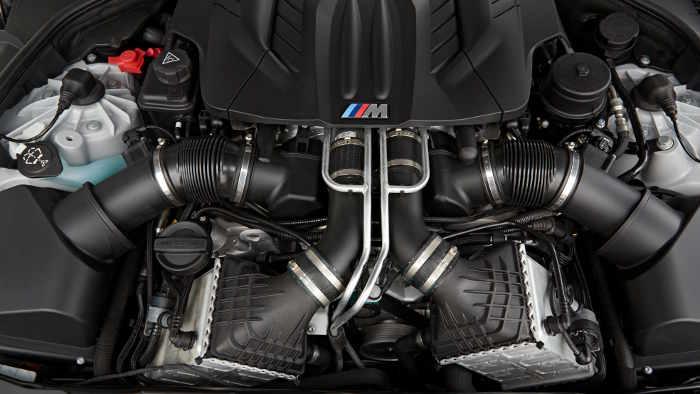 V8-Motor im BMW M6 Gran Coupé
