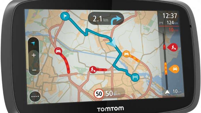 Neuerungen beim Navigationsgerät TomTom Go