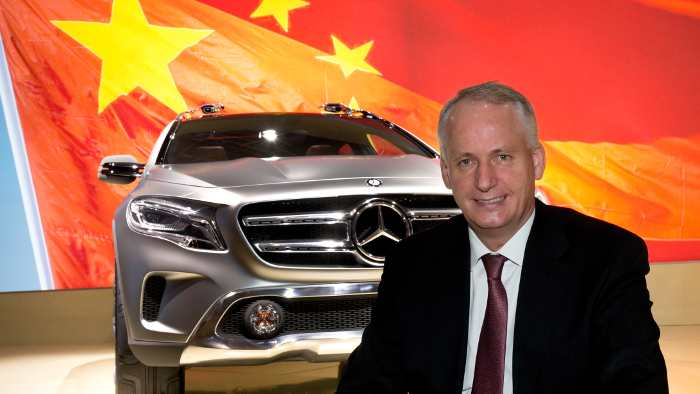 Hubertus Troska verantwortet das China-Geschäft von Daimler.