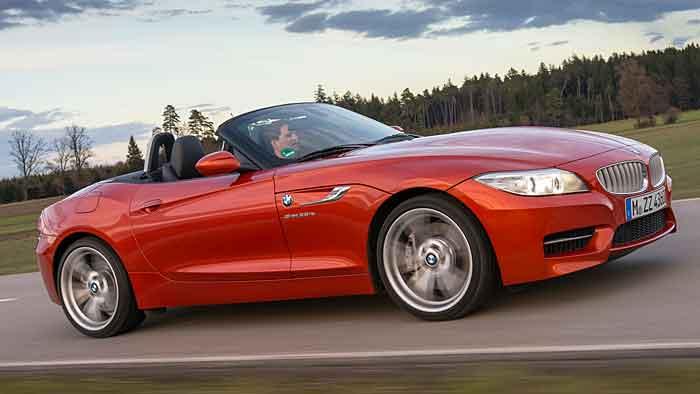 Der Einstiegspreis für den BMW Z4 sank über 3000 Euro.