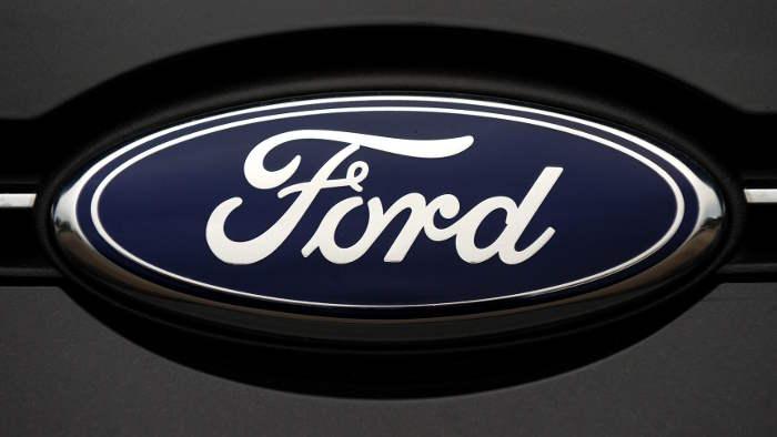 Das Logo Des US Autobauers Ford