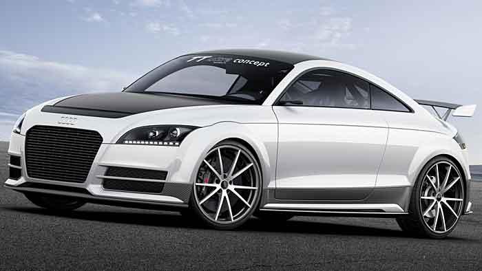 Audi TT: Leicht am Wörthersee