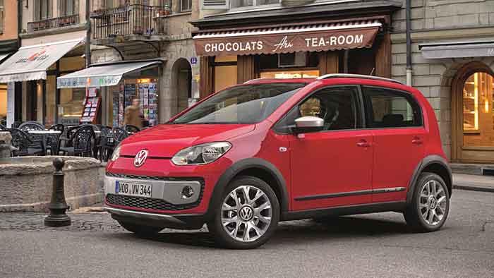 VW erweitert mit dem Up die Cross-Familie.
