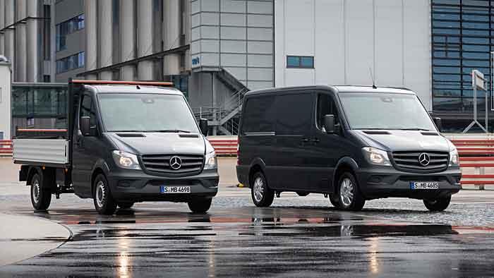 Mercedes wird künftig den Sprinter auch in den USA produzieren.