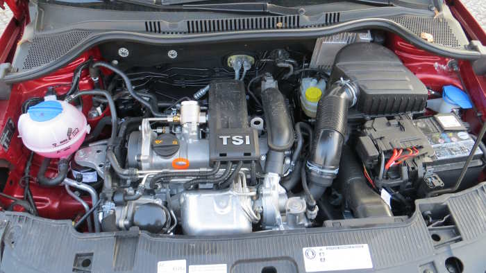 Der 1.2 TSI-Motor im Seat Ibiza ST.