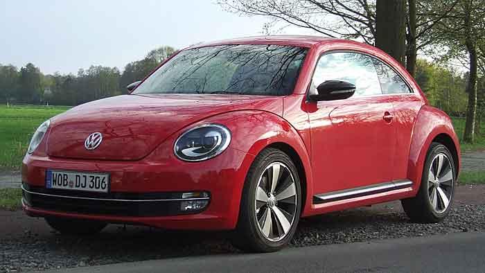 Der VW Beetle ist mehr für den Boulevard konzipiert.