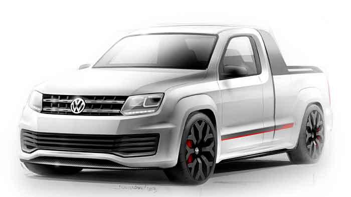VW verwandelt Amarok in Power-Pickup