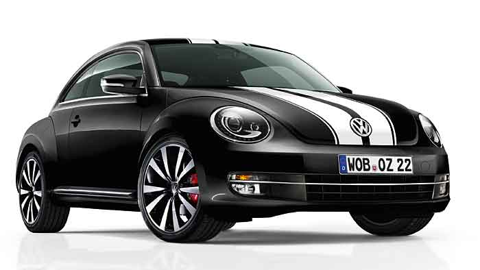 Neue Dekore stehen für den VW Beetle bereit.