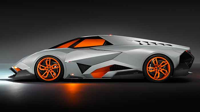 Lamborghini hat das Jubiläumsmodell Egoista mit 600 PS ausgestattet.