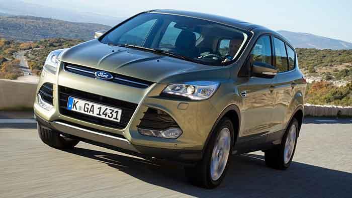 Zulassungssieger im Februar bei den SUV: Ford Kuga