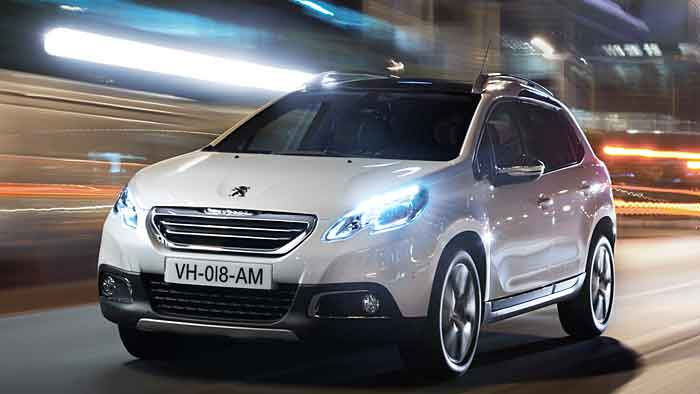 Peugeot 2008: City statt Country