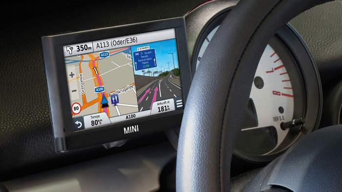 garmin bietet integriertes navigationsger t f r mini an. Black Bedroom Furniture Sets. Home Design Ideas