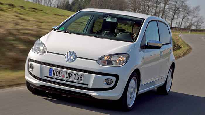Kleinwagen wie der VW Up haben einen geringen CO2-Ausstoß.