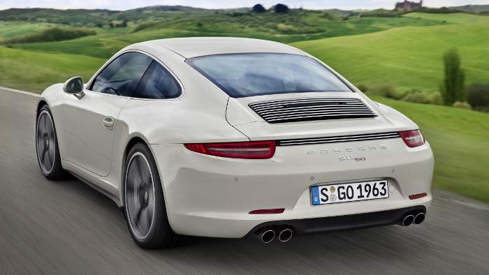 50 Jahre Porsche 911.