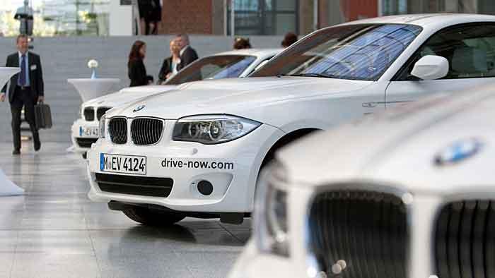 DriveNow füllt Fuhrpark mit BMW ActiveE auf