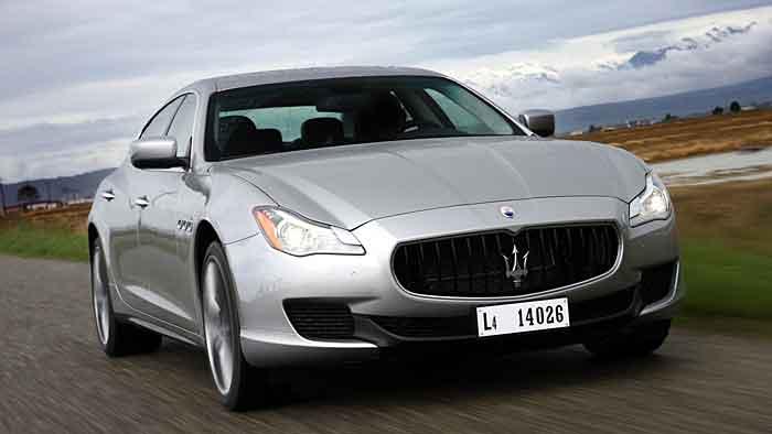 Maserati feiert mit dem Quattroporte S Q4 eine Premiere.