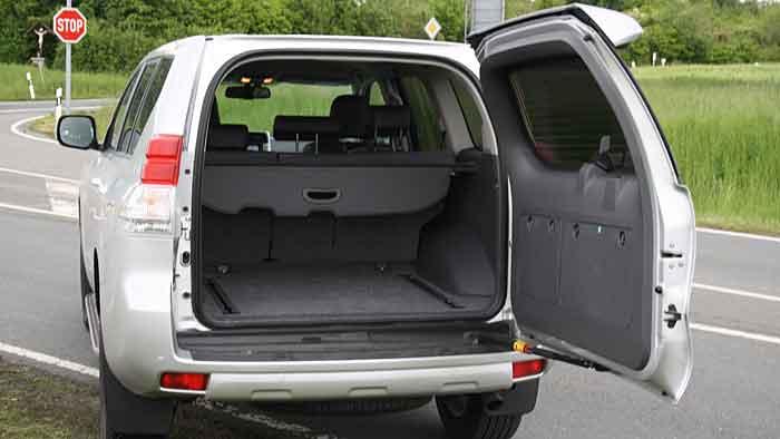 Der Toyota Land Cruiser verfügt als Vierzylinder über 190 PS.