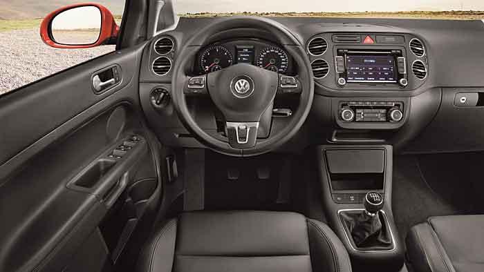 Der VW Golf Plus zielt auf eine ältere Kundschaft.