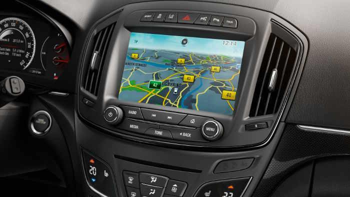 Das neue Opel-Navigationssystem im Insignia.